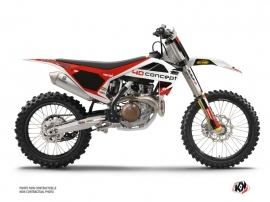 Husqvarna 250 FC Dirt Bike Replica BOS Graphic Kit