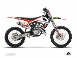 KTM 250 SX Dirt Bike Replica BOS Graphic Kit