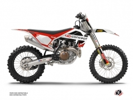 Husqvarna 450 FC Dirt Bike Replica BOS Graphic Kit