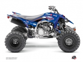 Yamaha 450 YFZ R ATV Replica By Rapport K20 Graphic Kit Blue Red