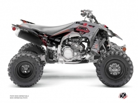 Yamaha 450 YFZ R ATV Replica By Rapport K20 Graphic Kit Grey Black