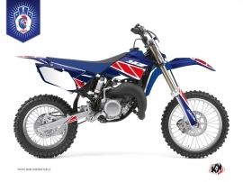 Yamaha 85 YZ Dirt Bike Replica France 2018 Limited Edition Graphic Kit