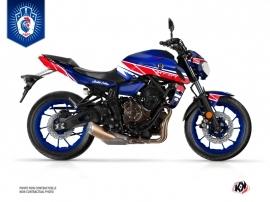 Kit Déco Moto Replica France 2018 Edition Limitée Yamaha MT 07