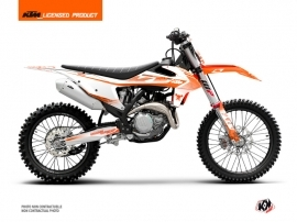 KTM 250 SXF Dirt Bike Replica Thomas Corsi 2020 Graphic Kit Orange