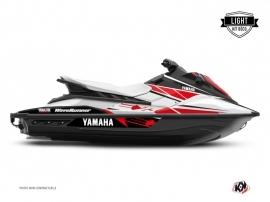 Yamaha EX Jet-Ski Replica Graphic Kit White Red LIGHT