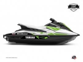 Yamaha EX Jet-Ski Replica Graphic Kit White Green LIGHT