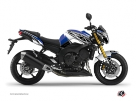 Yamaha FZ 8 Street Bike Replica Graphic Kit Blue