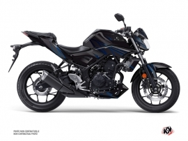Yamaha MT 03 Street Bike Replica Graphic Kit Black Blue