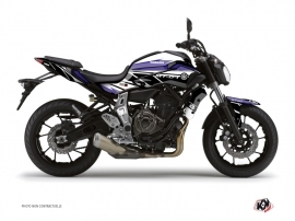 Yamaha MT 07 Street Bike Replica Graphic Kit Blue