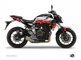 Yamaha MT 07 Street Bike Replica Graphic Kit Red