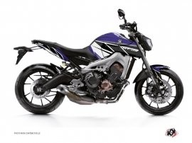 Yamaha MT 09 Street Bike Replica Graphic Kit Blue