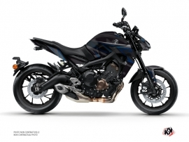 Yamaha MT 09 Street Bike Replica Graphic Kit Black Blue