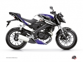 Yamaha MT 125 Street Bike Replica Graphic Kit Blue