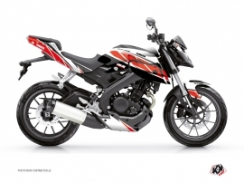 Yamaha MT 125 Street Bike Replica Graphic Kit Red