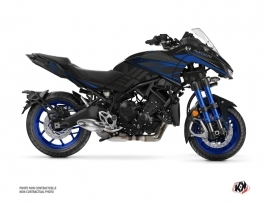 Yamaha NIKEN Street Bike Replica Graphic Kit Black Blue