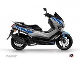 Kit Déco Maxiscooter Replica Yamaha NMAX 125 Bleu Gris