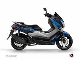 Yamaha NMAX 125 Maxiscooter Replica Graphic Blue Black