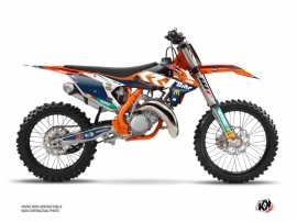 KTM 125 SX Dirt Bike Replica Pichon Graphic Kit