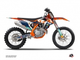 KTM 250 SXF Dirt Bike Replica Pichon Graphic Kit
