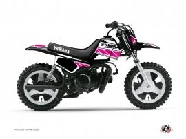 Yamaha PW 50 Dirt Bike Replica Graphic Kit Pink