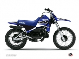 Yamaha PW 80 Dirt Bike Replica Graphic Kit Blue