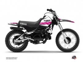 Yamaha PW 80 Dirt Bike Replica Graphic Kit Pink