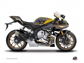 Yamaha R1 Street Bike Replica Graphic Kit Brown