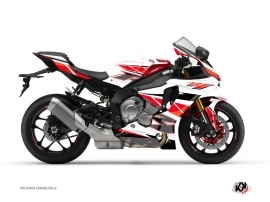 Yamaha R1 Street Bike Replica Graphic Kit Red