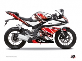 Yamaha R125 Street Bike Replica Graphic Kit Red