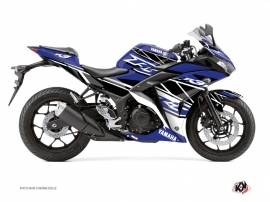 Yamaha R3 Street Bike Replica Graphic Kit Blue