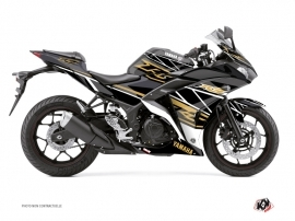 Yamaha R3 Street Bike Replica Graphic Kit Brown