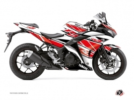 Yamaha R3 Street Bike Replica Graphic Kit Red