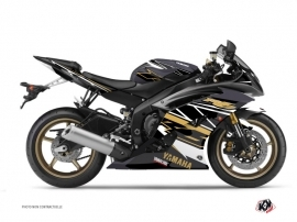 Yamaha R6 Street Bike Replica Graphic Kit Brown