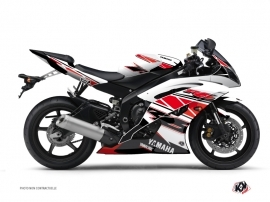 Yamaha R6 Street Bike Replica Graphic Kit Red