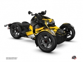 Kit Déco Hybride Replica Can Am Ryker 600 900 Jaune