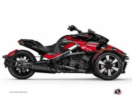 Kit Déco Hybride Replica Can Am Spyder F3 Rouge