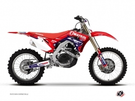 Kit Déco Moto Cross Replica Team Luc1 Honda 450 CRF 2017