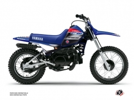 Yamaha PW 80 Dirt Bike Replica Team Outsiders 2020 Graphic Kit