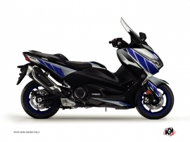 Yamaha TMAX 530 Maxiscooter Replica Graphic Kit Blue Grey