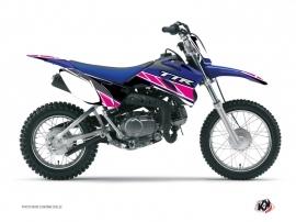 Kit Déco Moto Cross Replica Yamaha TTR 110 Rose