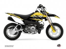 Yamaha TTR 50 Dirt Bike Replica Graphic Kit Yellow