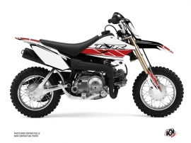 Yamaha TTR 50 Dirt Bike Replica Graphic Kit Red