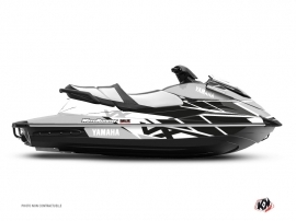 Yamaha VX Jet-Ski Replica Graphic Kit White Black