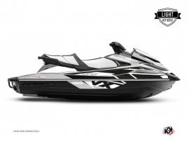Yamaha VX Jet-Ski Replica Graphic Kit White Black LIGHT