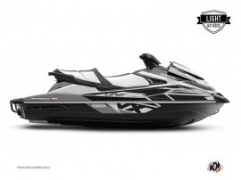Yamaha VX Jet-Ski Replica Graphic Kit Black Grey LIGHT