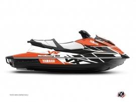 Yamaha VX Jet-Ski Replica Graphic Kit Black Orange
