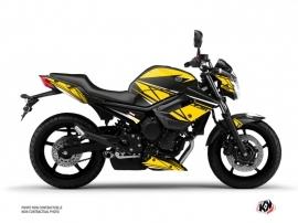 Yamaha XJ6 Street Bike Replica Graphic Kit Yellow