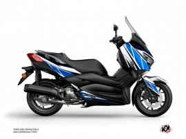 Yamaha XMAX 300 Maxiscooter Replica Graphic Blue Grey