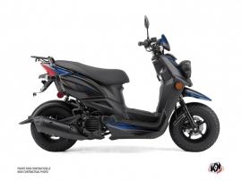 Yamaha BWS 50 - ZUMA 50F Scooter Replica Graphic Kit Black Blue