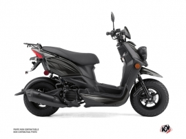Yamaha BWS 50 - ZUMA 50F Scooter Replica Graphic Kit Black Grey